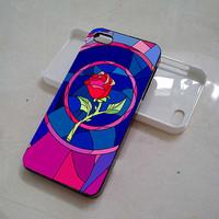 huruharakiri # Beauty and Beast rose glass iphone, samsung galaxy and ipod touch cases