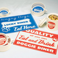 Diner Dog Placemat - Pure Modern Design Lifestyle Objects