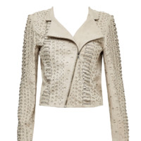 alice + olivia | JACE LEATHER MOTO JACKET