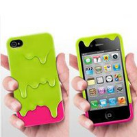 3D Ice Cream Hard Case Cover Skin for Apple IPHONE 4 4G 4S