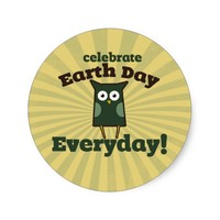 Celebrate Earth Day Everyday Owl