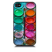 $9.99 Watercolor set paintbox iPhone case by skinblaster