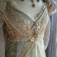 "Original Handmade Vintage Inspired Cinderella ""Ever After Breathe"" Wedding..."