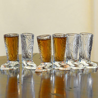 The Green Head - Cowboy Boots Shot Glasses
