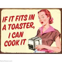 I Can Cook Retro Humor Metal Signs Funny Signs RetroPlanet.com