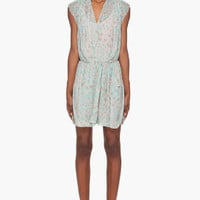 By Malene Birger Leopard Print Neima Silk Dress for women | SSENSE