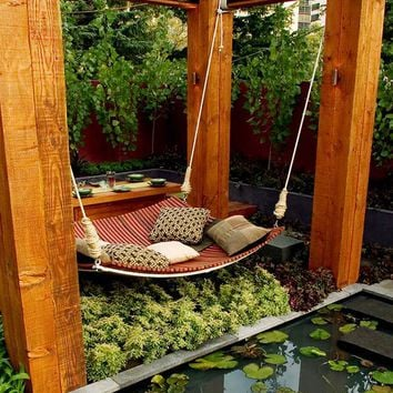 Romantic Garden Rearrangement for Outdoor Relaxation