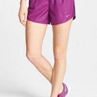 Nike 'Mod Tempo' Embossed Print Dri-FIT Running Shorts