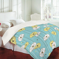 DENY Designs Home Accessories | Heather Dutton Blue Poppy Field Duvet Cover