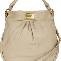 Marc by Marc Jacobs|Hillier Hobo textured-leather shoulder bag|NET-A-PORTER.COM