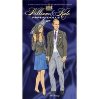 Amazon.com: William and Kate Paper Dolls: To Commemorate the Marriage of Prince William of Wales and Miss Catherine Middleton, 29th April 2011 (9780486483788): Tom Tierney: Books