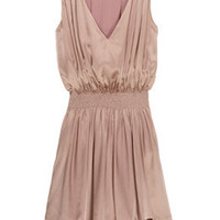 Pink Silk Dress by Thomas Burberry - Pink - Buy Dresses Online at my-wardrobe.com