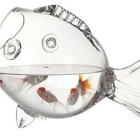 One Kings Lane - Creative Co-Op - Glass Fish Container
