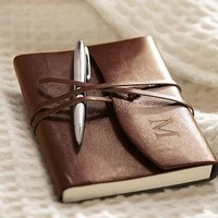 Toscana Leather Journal | Pottery Barn