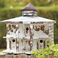 Weathered Birdhouse | Pottery Barn