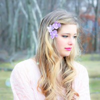 Hydrangea Hair Clip | Luulla