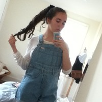 a picture diary, i just bought these dungarees for two dollars,...