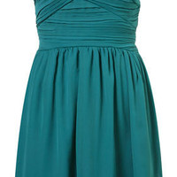 Chiffon Bandeau Dress by Rare** - Topshop