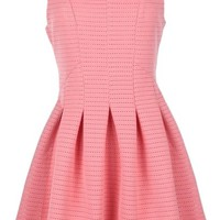 Perfect Girl Dress | Coral Daytime Fit Flare A-Line Dresses | Rickety Rack