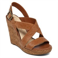 Jessica Simpson Jerrimo Criss-Cross Strap Wedge at Von Maur