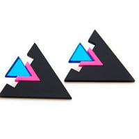 FREE SHIPPING Blitz Earring by angledust on Etsy