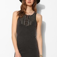 Ecote Amanda Knit Lace-Up Tank Dress - Urban Outfitters