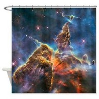 Mystic Mountain Astronomy Shower Curtain> Shower Curtains > Scarebaby Design