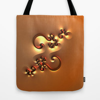 Curvy One Tote Bag by Lyle Hatch | Society6