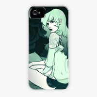 """Peony Green"" - Phone Case by Crystal Curtis"