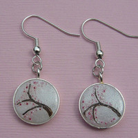 Cherry Blossom Earrings - Spring Flowers