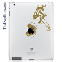 Pokemon Ash Pokeball | iPad Decals | The Decal Guru