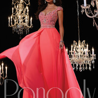 Off The Shoulder Formal Prom Dress Panoply 14613