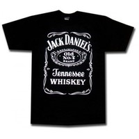 Jack Daniels Shirt : Saloon T-Shirt | Officially Licensed Jack Daniel's T-Shirt