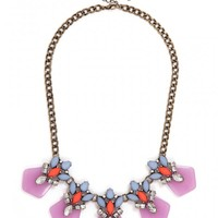Frosted Orchid Collar