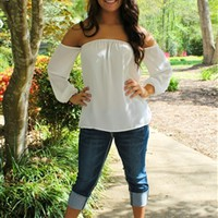 The Kimber Top in White