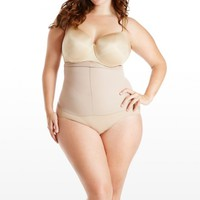 Plus Size Spanx Higher Power Brief Shaper | Fashion To Figure