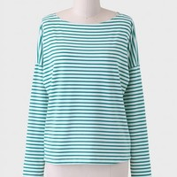 Bright Leaf Striped Top