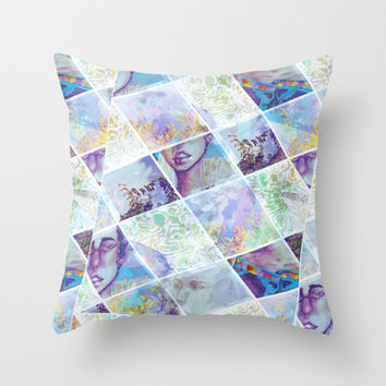 Looking for Signs Throw Pillow by Ben Geiger