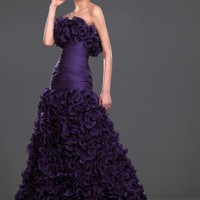 New Luxury Strapless Prom Gown - Basadress.com