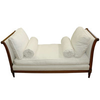 19th Century Louis Phillipe Walnut Daybed
