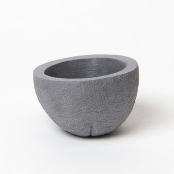 Stone Fruit Planter - Orange Dark Grey - Objects - NEW