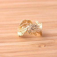 feather ringgold adjustable by bythecoco on Zibbet