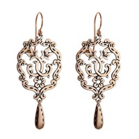 Little Chandelier Earrings - Rose Gold by Laurent Gandini