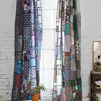 Magical Thinking Patchwork Curtain-