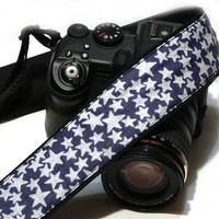 Stars Camera Strap. dSLR Camera Strap. Canon Camera Strap. Nikon Camera Strap. Women Accessories.