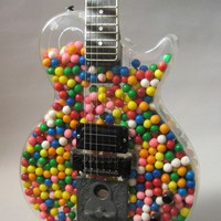 Gumball Guitar circa 1990 by RichRoland on Etsy
