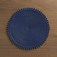 Loopdedoo Navy Placemat