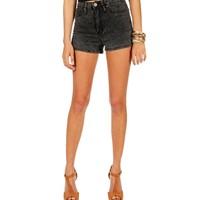 Pre-Order Dark Denim High Rise Shorts
