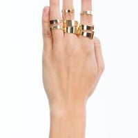 Eight Piece Ring Set
