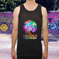 5 SOS Galaxy Nebula for men,women,tank top